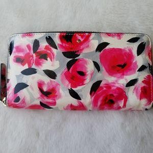 Kate Spade rose/floral wallet